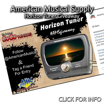 AMERICAN MUSICAL SUPPLY HORIZON PEDAL GIVEAWAY