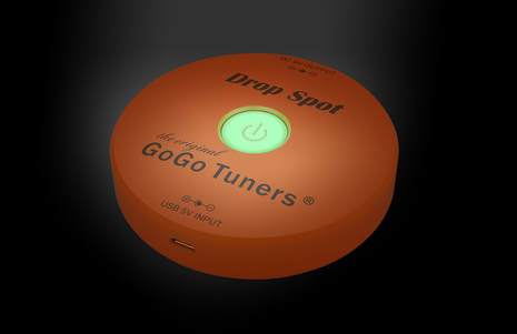 GOGO TUNERS DROP SPOT RECHARGEABLE LITHIUM POWER SUPPLY
