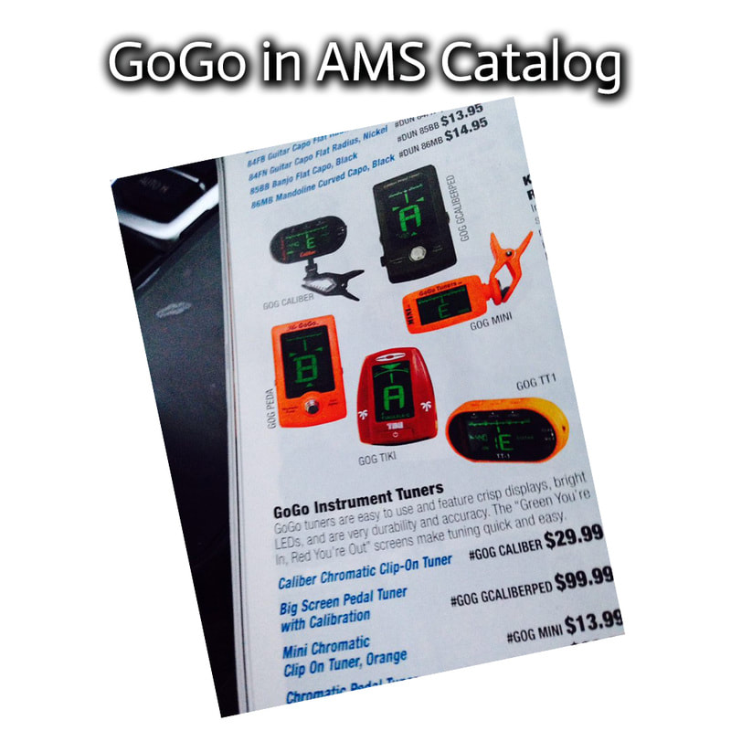 GOGO Tuners IN AMS CATALOG
